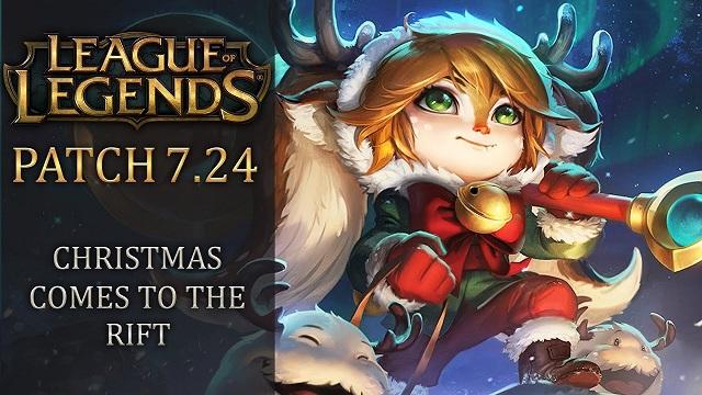 League Of Legends Patch Notes 7.24